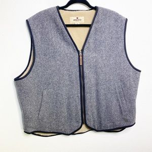 Woolrich Wool ZIP Up Vest